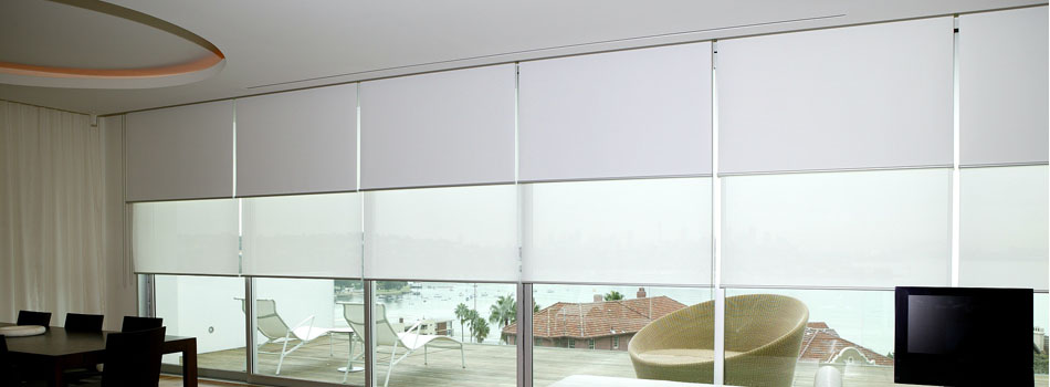 Dual Roller Blinds Superb Window Furnishings