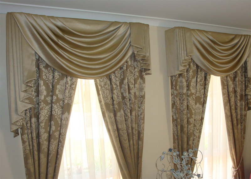 Pelmets Swags amp Tails Superb Window Furnishings